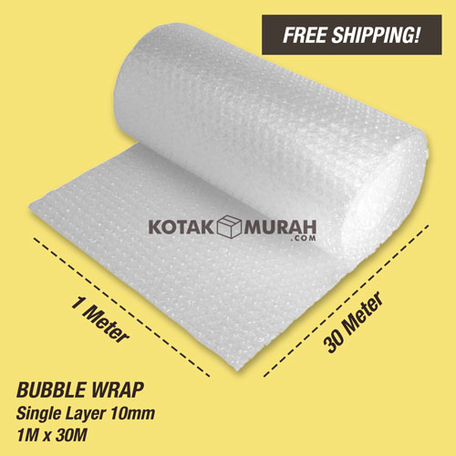 BUBBLE WRAP 30M